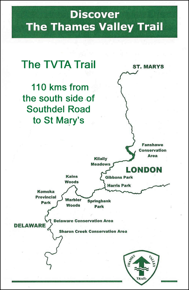 TVTA hiking map